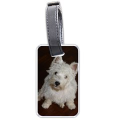 West highland white terrier puppy Luggage Tags (One Side)