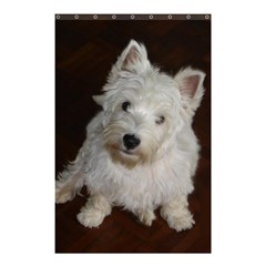 West highland white terrier puppy Shower Curtain 48  x 72  (Small)