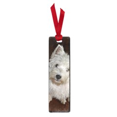 West highland white terrier puppy Small Book Marks