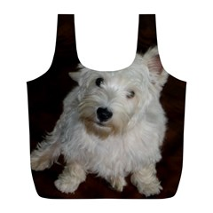 West highland white terrier puppy Full Print Recycle Bags (L)