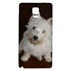 West highland white terrier puppy Galaxy Note 4 Back Case