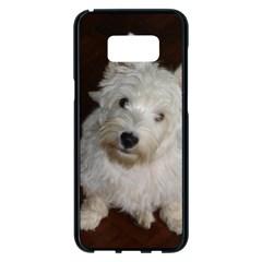 West highland white terrier puppy Samsung Galaxy S8 Plus Black Seamless Case