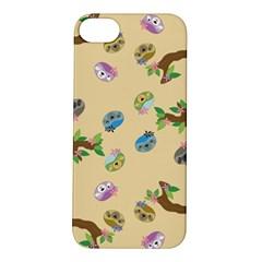 Sloth Tan Bg Apple iPhone 5S/ SE Hardshell Case