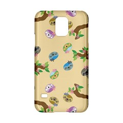 Sloth Tan Bg Samsung Galaxy S5 Hardshell Case