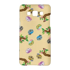Sloth Tan Bg Samsung Galaxy A5 Hardshell Case