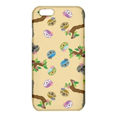 Sloth Tan Bg iPhone 6/6S TPU Case