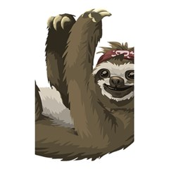 Sloth Hippie Shower Curtain 48  x 72  (Small)