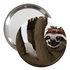 Sloth Hippie 3  Handbag Mirrors