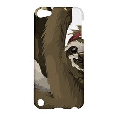 Sloth Hippie Apple iPod Touch 5 Hardshell Case