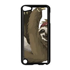 Sloth Hippie Apple iPod Touch 5 Case (Black)