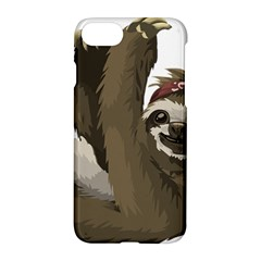 Sloth Hippie Apple iPhone 7 Hardshell Case