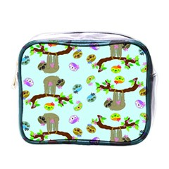 Sloth Blue Bg Mini Toiletries Bags