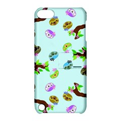 Sloth Blue Bg Apple iPod Touch 5 Hardshell Case with Stand