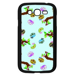 Sloth Blue Bg Samsung Galaxy Grand DUOS I9082 Case (Black)