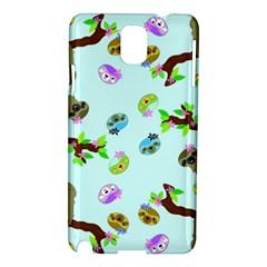 Sloth Blue Bg Samsung Galaxy Note 3 N9005 Hardshell Case