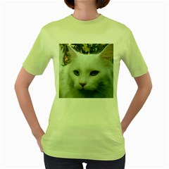 Maine Coon 4 Women s Green T-Shirt