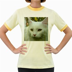 Maine Coon 4 Women s Fitted Ringer T-Shirts