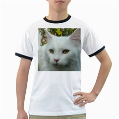 Maine Coon 4 Ringer T-Shirts