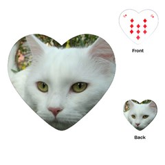 Maine Coon 4 Playing Cards (Heart)
