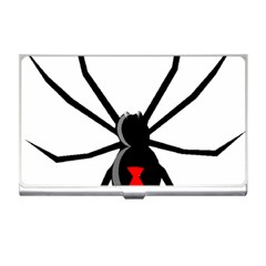 Black Widow cartoon Business Card Holders