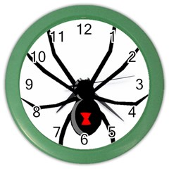 Black Widow cartoon Color Wall Clocks