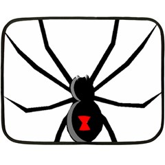 Black Widow cartoon Double Sided Fleece Blanket (Mini)