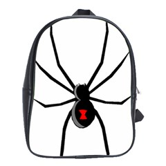 Black Widow cartoon School Bags(Large)