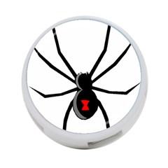Black Widow cartoon 4-Port USB Hub (Two Sides)