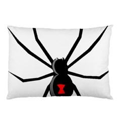 Black Widow cartoon Pillow Case (Two Sides)