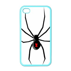 Black Widow cartoon Apple iPhone 4 Case (Color)