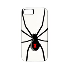 Black Widow cartoon Apple iPhone 5 Classic Hardshell Case (PC+Silicone)