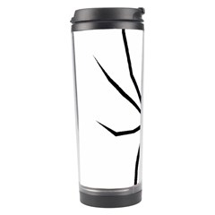 Black Widow cartoon Travel Tumbler
