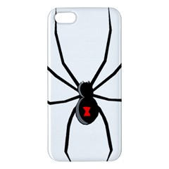 Black Widow cartoon iPhone 5S/ SE Premium Hardshell Case