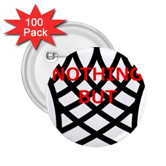Nothing But Net 2.25  Buttons (100 pack)