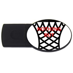 Nothing But Net USB Flash Drive Oval (4 GB)