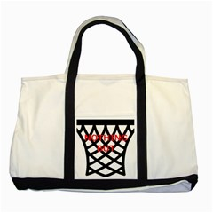 Nothing But Net Two Tone Tote Bag