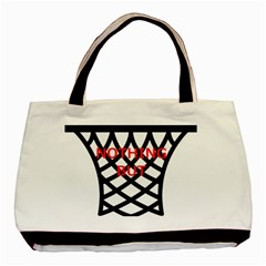 Nothing But Net Basic Tote Bag (Two Sides)