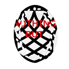 Nothing But Net Ornament (Oval Filigree)
