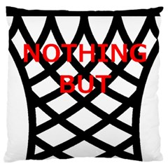 Nothing But Net Large Cushion Case (Two Sides)