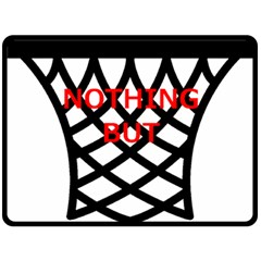 Nothing But Net Double Sided Fleece Blanket (Large)