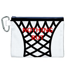 Nothing But Net Canvas Cosmetic Bag (XL)