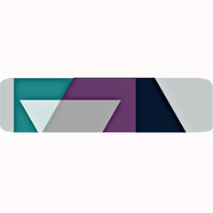 Geodesic Triangle Square Large Bar Mats