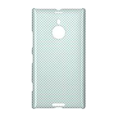 Tiffany Aqua Blue Candy Polkadot Hearts on White Nokia Lumia 1520