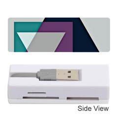 Geodesic Triangle Square Memory Card Reader (Stick)
