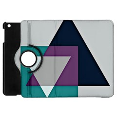 Geodesic Triangle Square Apple iPad Mini Flip 360 Case