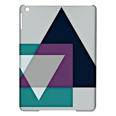 Geodesic Triangle Square iPad Air Hardshell Cases