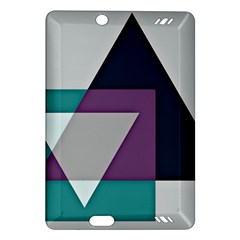 Geodesic Triangle Square Amazon Kindle Fire HD (2013) Hardshell Case