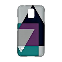 Geodesic Triangle Square Samsung Galaxy S5 Hardshell Case