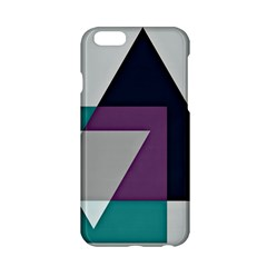 Geodesic Triangle Square Apple iPhone 6/6S Hardshell Case