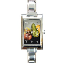 Get Fruity Rectangle Italian Charm Watch